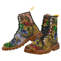Harry Potter Fashion Shoes Lace Up Boots For Women