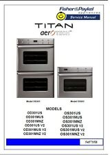 Repair Manual: Fisher & Paykel Ovens & Cooktops (choice of 1 manual, see below)