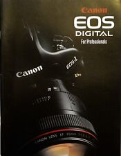 CANON EOS DIGITAL DSLR SYSTEM BROCHURE, 81 PAGES