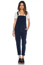 CURRENT/ELLIOTT The Shirley corduroy jumpsuit overalls 1 S seaside navy blue