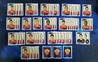 64x PANINI UEFA Champions League 2010/2011 Sticker - AS Roma Lot