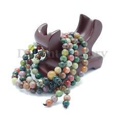 6mm Tibetan Buddhist India Agate 108 Prayer Beads Mala Bless Bracelet Necklace