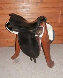 Militaria Universal Pattern (UPS) Cavalry Horse Troopers Leather Saddle '1887' ^