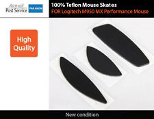 Mouse Feet Skates pads for Logitech M950 MX Performance Wireless part repair 3M