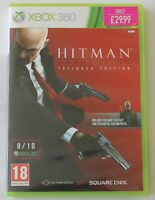 XBOX 360 Game Hitman Absolution PAL - Disc/Manual - Worldwide Shipping