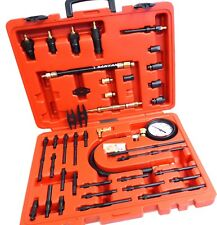 Petrol Diesel Engine Compression Tester Kit Injector, Glow & Spark Plug Adaptors