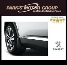 Genuine Peugeot 5008 Front Styled Mudflaps 2017 Onwards (standard wing trims)