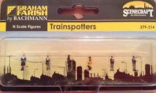 Graham Farish By Bachmann 379-314. Trainspotters Figures. N Scale.
