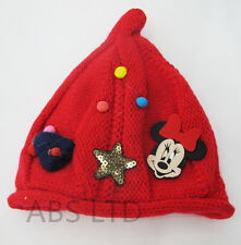 Beautiful Cartoon Character Girls Kids  Wool Knitted Winter Warm Hats Caps