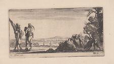 Stefano Della Bella - (Firenze 1610-1664) acquaforte Disegni su alcune manovre