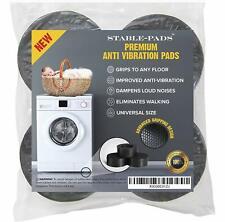 Anti-Vibration and Anti-Walk Pads for Washer and Dryer, Washing Machine Feet - 4