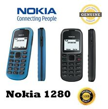 Genuine Nokia 1280 (Unlocked) Simple Basic classic Mobile Phone Red color