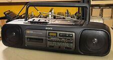 Vintage Ghettoblaster SONY CFD-55 MK II S CD-Radio-Cassette Recorder Bj. 1994 B