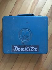 Vintage Makita Metal Drill Box