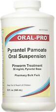 Oral-Pro Pyrantel Pamoate Vanilla Flavored 32 oz.