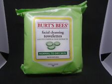 Burt's Bees Facial Cleansing 30 Towelettes Cucumber & Sage Extract