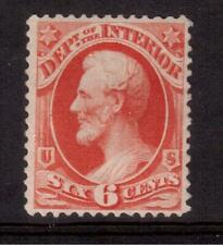 USA 1873 MINT #O18, 6 cents INTERIOR OFFICIAL STAMP !! D14