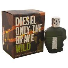 Diesel ONLY THE BRAVE WILD 75 ml Eau de Toilette Spray NEU OVP