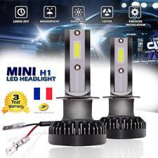 2X 110W Mini H1 Phare voiture LED Ampoule à faisceau unique 20000LM 6000K Blanc