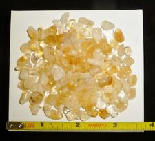 DINO: Tiny CITRINE CRYSTAL Polished Stones, Brazil - 48 g - Crystal Healing