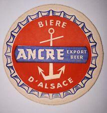 ANCIEN SOUS BOCK - ANCRE - EXPORT BEER - BIERE D'ALSACE