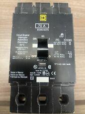 Square D # Egb34070 New Breaker (No carton) 480v