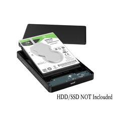 "ORICO 2.5"" Inch USB3.0 SATA III HDD^SSD Hard Drive Enclosure w/ Metal Mesh Case"