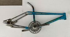 1986 Blue Haro Master Freestyler Frame/fluted Seat Post/group One Cranks 80s BMX