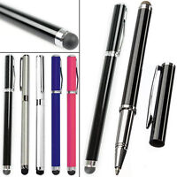 3X UNIVERSAL 2in1 CAPACITIVE/BALLPOINT TOUCH SCREEN STYLUS PEN FOR MOBILE PHONES