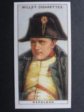 No.9 EMPEROR NAPOLEON I. Waterloo REPRO 1995 from Wills Original 1916