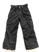686 Smarty Cargo Insulated Snowboard Pants Gray removable liner Youth S Small
