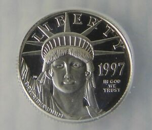 1997 W Platinum Eagle $10, ICG PR 69 DCAM, Beautiful PROOF DCAM Coin!