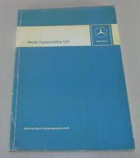 Werkstatthandbuch Mercedes W123 200 230 240 250 280 300 Benziner + Diesel ab ´76