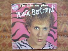 PLASTIC BERTRAND - J'te fais un Plan ( LP - Synth - Red Wax )