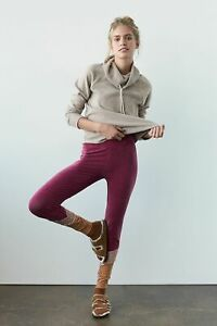 Anthropologie Free People Isota Colorblock Knit Leggings Size M