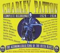 CHARLIE PATTON - COMPLETE RECORDINGS 5 CD NEW+