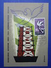 LOT 9268 TIMBRES STAMP CARTES MAXIMUM EUROPA 60 PORTUGAL ANNEE 1960