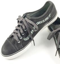 VANS Size US 7.5 Dark Gray Suede Sneakers Women s Sneakers Rubber Shoes 25fc8c859