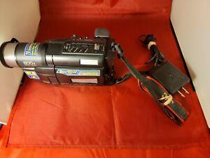 JVC GR-SXM240U Compact VHS Camcorder Super VHS-C Video Camera tested no battery
