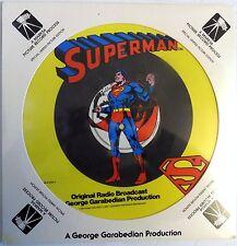 """Superman - Original Radio Broadcast - 1978  - 12"""" Picture Disc LP - New"""