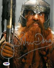 John Rhys Davies Signed LOTR Authentic Autographed 8x10 Photo PSA/DNA #AC17557