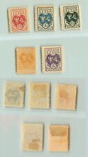 Central Lithuania 1920 SC 1-3 5-6 mint.  rtb2994