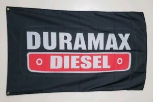 Duramax Diesel Banner 3x5 ft Flag Garage Shop Wall Decor GM Chevrolet V8 GMC