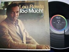 Lou Rawls-Too Much!-LP-Capitol-ST2713-VG+