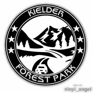 2x KIELDER FOREST PARK Car Vinyl Sticker - WATERPROOF #2364