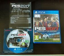 PES 2017 - Pro Evolution Soccer - PLAYSTATION - PS4 - Complete - Nearly new