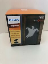 PHILIPS MOTION PROJECTOR W/LED BULBS GHOST COOL WHITE