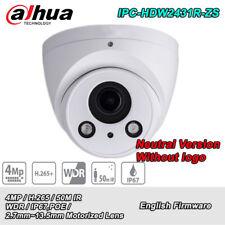 Dahua IPC-HDW2431R-ZS 4MP 2.7~13.5MM POE WDR IP67 Eyeball Network Camera No Logo