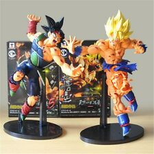 Dragon Ball Z SCultures Tenkaichi Son Gokou Bardock Battle Damage Set PVC Figure