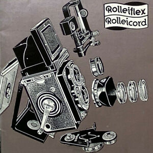 Vintage Rolleiflex Rolleicord Practical Accessories Franke Heidecke Braunschweig
